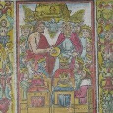 Arte: XILOGRAFÍA DEL AVE MARÍA, ALBERTO DA CASTELLO, 1524. Lote 29650969