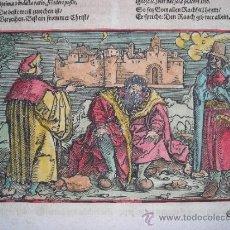 Arte: ESCENAS RURALES RENACENTISTAS, WEIDITZ, 1532. Lote 34651026