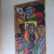 Arte: HUNGA - DE CLAUDIO SILVEIRA SILVA - FIRMADO Y NUMERADO. Lote 35795182