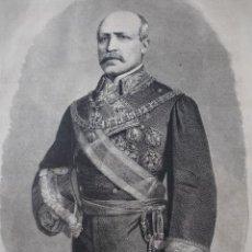 Art: FRANCISCO SERRANO Y DOMINGUEZ 1874. Lote 36006675