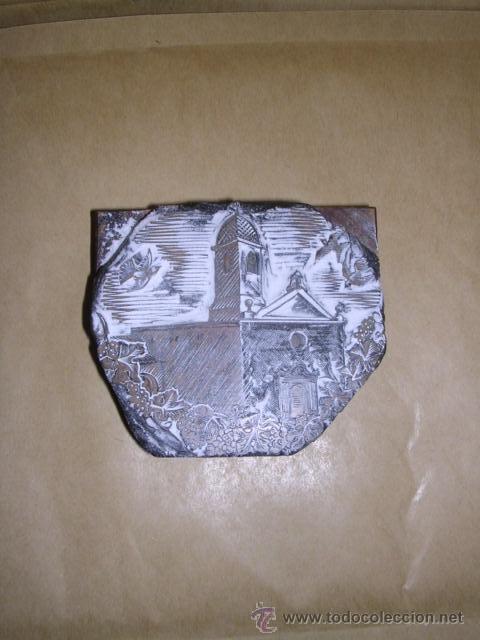 Arte: ENRIC CRISTOFOR RICART antigua PLACA DE BOJ ( XILOGRAFIA ) PARA IMPRIMIR - 8X7 CM. - Foto 3 - 36781078