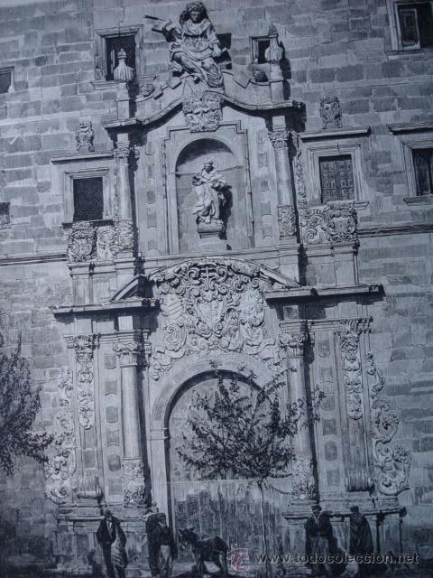 ORIHUELA COLEGIO SANTO DOMINGO.1874 (Arte - Xilografía)