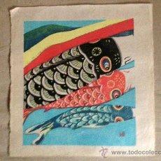Arte: ESTAMPA JAPONESA, XILOGRAFIAS PROCEDENTES DE OSAKA, JAPÓN.. Lote 38762413