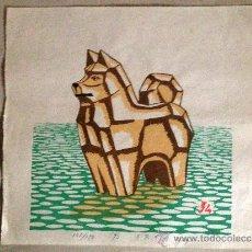 Arte: ESTAMPA JAPONESA, XILOGRAFIAS PROCEDENTES DE OSAKA, JAPÓN.. Lote 38762432