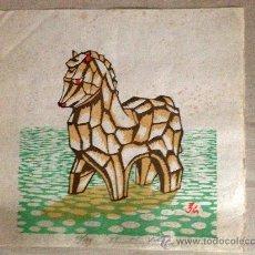 Arte: ESTAMPA JAPONESA, XILOGRAFIAS PROCEDENTES DE OSAKA, JAPÓN.. Lote 38762437