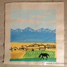 Arte: ESTAMPA JAPONESA, XILOGRAFIAS PROCEDENTES DE OSAKA, JAPÓN.. Lote 38762481