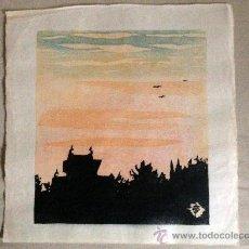 Arte: ESTAMPA JAPONESA, XILOGRAFIAS PROCEDENTES DE OSAKA, JAPÓN.. Lote 38762487