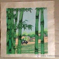 Arte: ESTAMPA JAPONESA, XILOGRAFIAS PROCEDENTES DE OSAKA, JAPÓN.. Lote 38762496