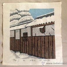 Arte: ESTAMPA JAPONESA, XILOGRAFIAS PROCEDENTES DE OSAKA, JAPÓN.. Lote 38762499