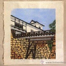 Arte: ESTAMPA JAPONESA, XILOGRAFIAS PROCEDENTES DE OSAKA, JAPÓN.. Lote 38762504