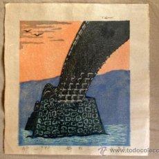 Arte: ESTAMPA JAPONESA, XILOGRAFIAS PROCEDENTES DE OSAKA, JAPÓN.. Lote 38762516