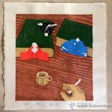 Arte: ESTAMPA JAPONESA, XILOGRAFIAS PROCEDENTES DE OSAKA, JAPÓN.. Lote 38762555