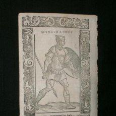 Arte: XILOGRAFÍA DE 1598 ORIGINAL DE C.VECELLIO , VENECIA.. Lote 239780245