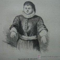 Arte: NIÑO JUDIO. 1859. 13X11. Lote 38982966