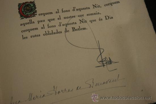 Arte: Xilografia de Antoni Gelabert, numerada 48/50, de año 1946 - Foto 5 - 39259550
