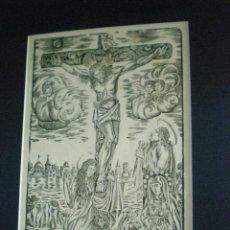 Arte: XILOGRAFÍA S-XIX STO. XTO DE LA AGONIA. Lote 39715519
