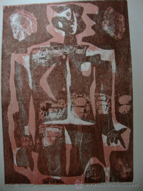 LUIS SEOANE. NUEVE XILOGRAFOS ARGENTINOS. (Arte - Xilografía)