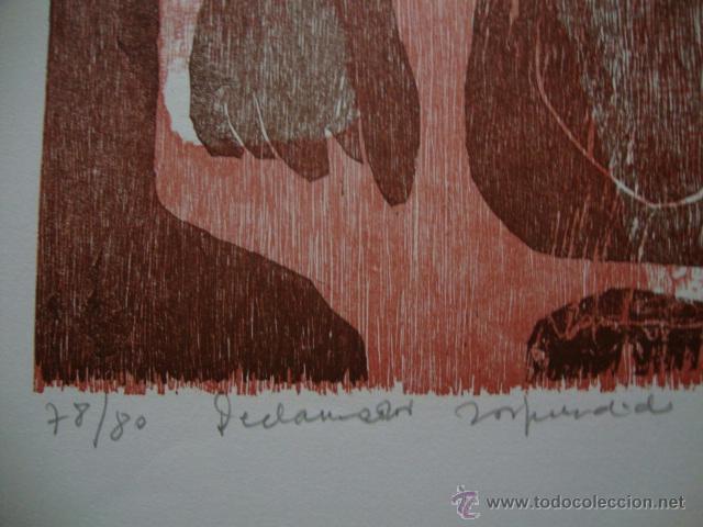 Arte: LUIS SEOANE. NUEVE XILOGRAFOS ARGENTINOS. - Foto 3 - 41015970