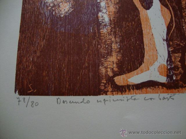 Arte: LUIS SEOANE. NUEVE XILOGRAFOS ARGENTINOS. - Foto 11 - 41015970