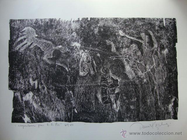 Arte: LUIS SEOANE. NUEVE XILOGRAFOS ARGENTINOS. - Foto 27 - 84388835