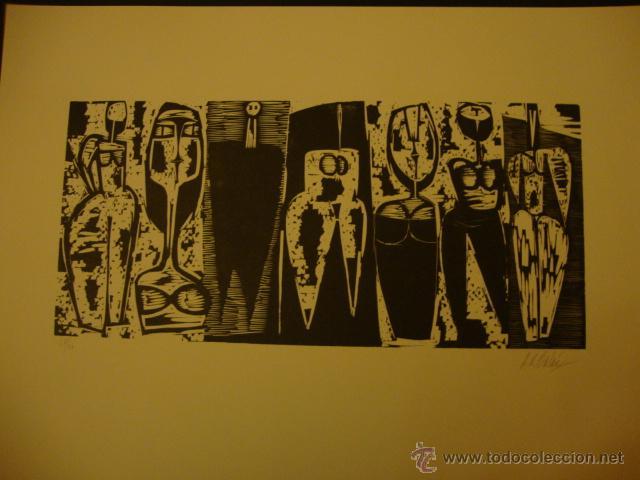 Arte: LUIS SEOANE. NUEVE XILOGRAFOS ARGENTINOS. - Foto 30 - 84388835