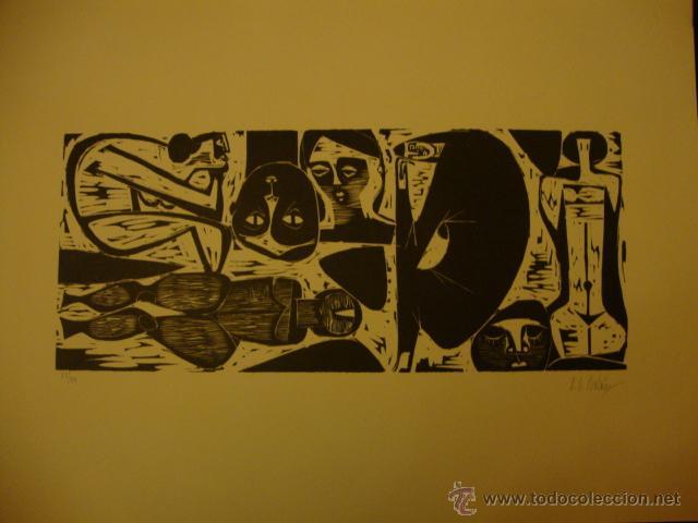 Arte: LUIS SEOANE. NUEVE XILOGRAFOS ARGENTINOS. - Foto 32 - 84388835