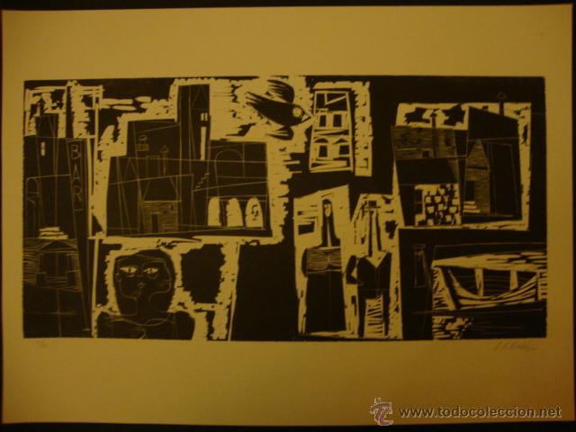 Arte: LUIS SEOANE. NUEVE XILOGRAFOS ARGENTINOS. - Foto 34 - 84388835