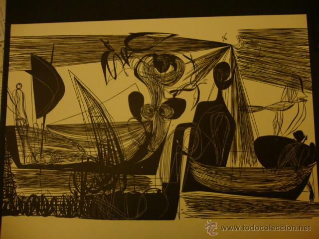 Arte: LUIS SEOANE. NUEVE XILOGRAFOS ARGENTINOS. - Foto 39 - 84388835