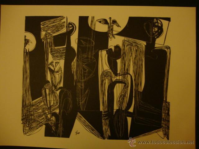 Arte: LUIS SEOANE. NUEVE XILOGRAFOS ARGENTINOS. - Foto 42 - 84388835