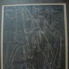 Arte: LUIS SEOANE. LA DAMA Y OTROS GRABADOS.. Lote 41496135