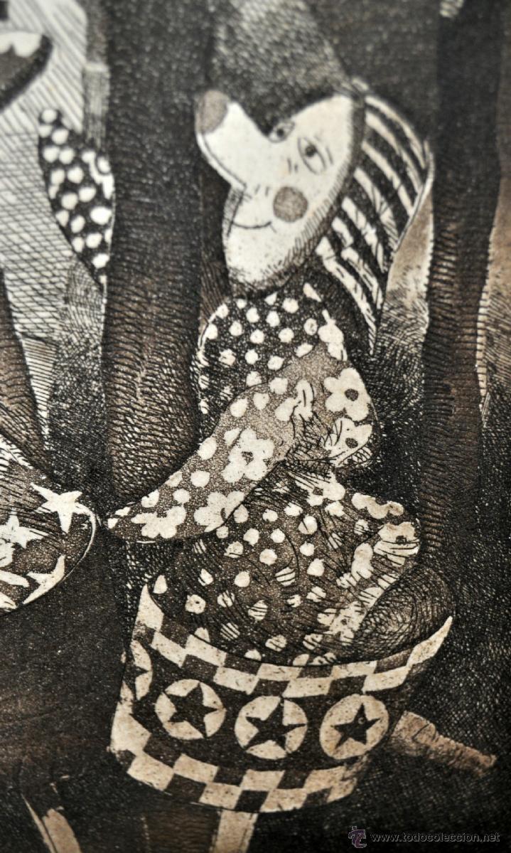 Arte: JOSÉ MARÍA BELLIDO (BARCELONA, 1958) AGUAFUERTE ORIGINAL. TIRAJE P/A - Foto 3 - 41943651