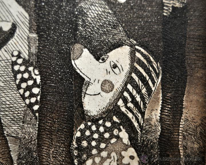 Arte: JOSÉ MARÍA BELLIDO (BARCELONA, 1958) AGUAFUERTE ORIGINAL. TIRAJE P/A - Foto 6 - 41943651