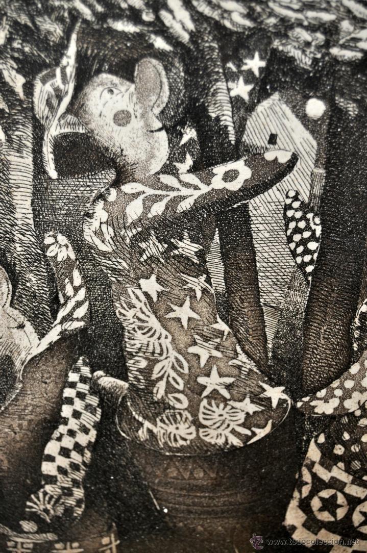 Arte: JOSÉ MARÍA BELLIDO (BARCELONA, 1958) AGUAFUERTE ORIGINAL. TIRAJE P/A - Foto 7 - 41943651