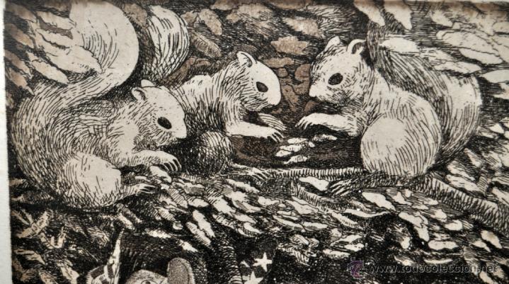 Arte: JOSÉ MARÍA BELLIDO (BARCELONA, 1958) AGUAFUERTE ORIGINAL. TIRAJE P/A - Foto 9 - 41943651
