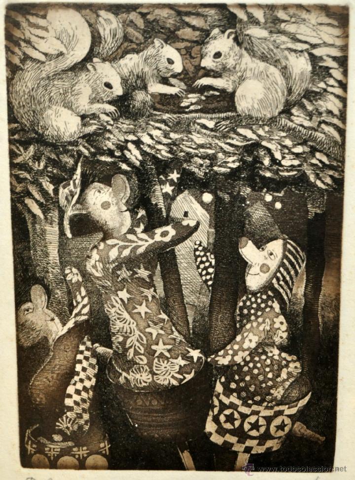 Arte: JOSÉ MARÍA BELLIDO (BARCELONA, 1958) AGUAFUERTE ORIGINAL. TIRAJE P/A - Foto 13 - 41943651