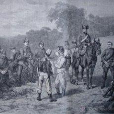 Arte: EXPLORADORES PRUSIANOS EN GRAVELOTTE GUERRA FRANCO PRUSIANA FRANCIA.1870. Lote 43744887