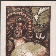 Arte: C9-20 XILOGRAFIA DE J. CASTELLS MARTÍ (1906 - 1980) PINTOR Y GRABADOR. DEL SIGLO XX, POSIBLEMENTE E. Lote 45218944