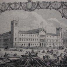 Arte: BARCELONA EXPOSICION GENERAL CATALANA .AÑO 1871. Lote 45310001