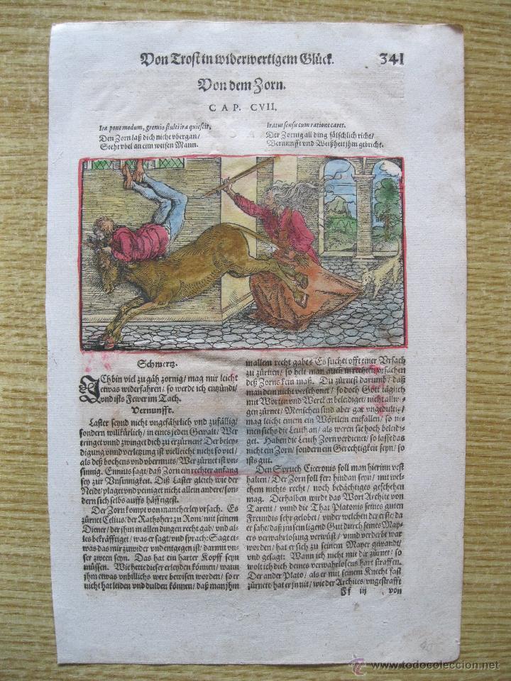 FIESTA MEDIEVAL, 1532. HANS WEIDITZ (Arte - Xilografía)