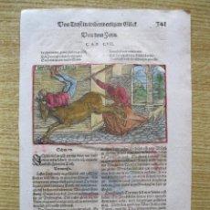 Arte: FIESTA MEDIEVAL, 1532. HANS WEIDITZ. Lote 46252561
