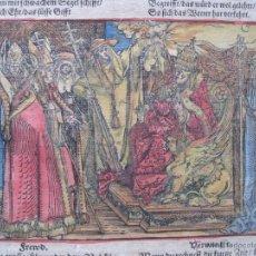 Arte: EL PODER Y LA VIOLENCIA; EL RESPETO Y EL HONOR, 1532.HANS WEIDITZ. Lote 46252601