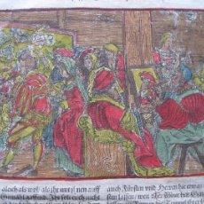 Arte: ESTUDIO DE JOYERÍA Y PINTURA, 1532. HANS WEIDITZ. Lote 46252684