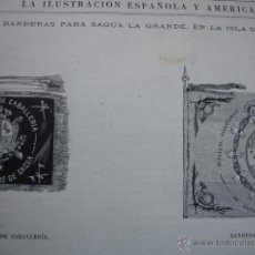 Arte: BANDERAS PARA SAGUA LA GRANDE CUBA.AÑO 1871. Lote 47603865