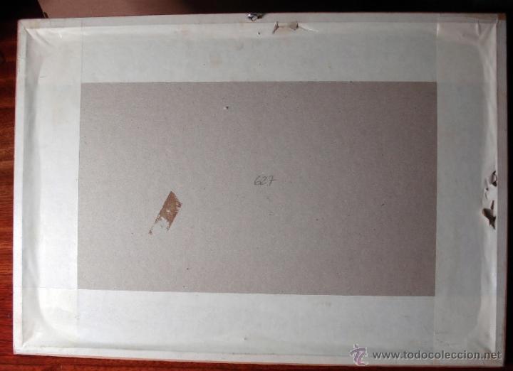 Arte: NOVAE INSULAE ANTIGUA REPRODUCCIÓN DE LA XILOGRAFÍA ORIGINAL ENMARCADA BONITA PIEZA - Foto 4 - 47619529