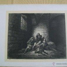 Arte: Nº 70 LA DIVINA COMEDIA POR GUSTAVO DORÉ 1870 MONTANER Y SIMÓN 36 X 26.5 CM. Lote 47682569