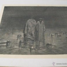 Arte: Nº 67 LA DIVINA COMEDIA POR GUSTAVO DORÉ 1870 MONTANER Y SIMÓN 36 X 26.5 CM. Lote 47690525