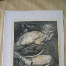 Arte: Nº 55 LA DIVINA COMEDIA POR GUSTAVO DORÉ 1870 MONTANER Y SIMÓN 36 X 26.5 CM. Lote 47692050