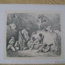Arte: Nº 57 LA DIVINA COMEDIA POR GUSTAVO DORÉ 1870 MONTANER Y SIMÓN 36 X 26.5 CM. Lote 47716230