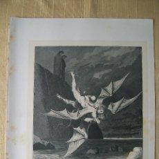 Arte: Nº 49 LA DIVINA COMEDIA POR GUSTAVO DORÉ 1870 MONTANER Y SIMÓN 36 X 26.5 CM. Lote 47749298