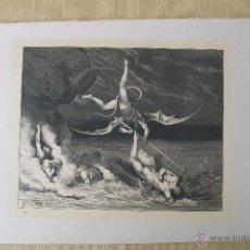 Arte: Nº 48 LA DIVINA COMEDIA POR GUSTAVO DORÉ 1870 MONTANER Y SIMÓN 36 X 26.5 CM 1ª EDICIÓN ESPAÑOLA. Lote 47749986